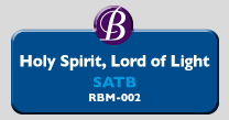 RBM-002 | Holy Spirit, Lord of Light