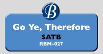RBM-027 | Go Ye, Therefore