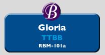 RBM-101a | Gloria TTBB