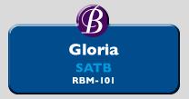 RBM-101 | Gloria SATB