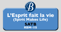 RBM-115 | L'Espirit fait la vie (Spirit Makes Life)