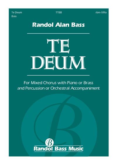 RBM-109a | Te Deum TTBB