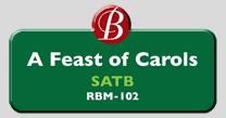 Randol Bass Music - RBM102 - A Feast of Carols, SATB