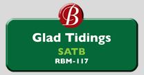 Randol Bass Music - RBM-117 - Glad Tidings, SATB