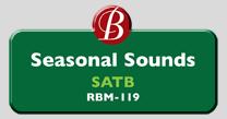 Randol Bass Music - RBM-119 - Seasonal Sounds, SATB