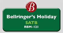 RBM-121 | Bellringer's Holiday, SATB
