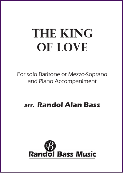 RBM-001b | The King of Love Solo Voice Alto Baritone