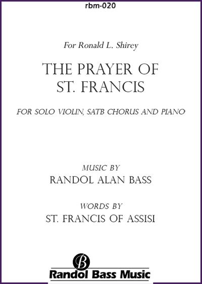 RBM-020   The Prayer of St. Francis