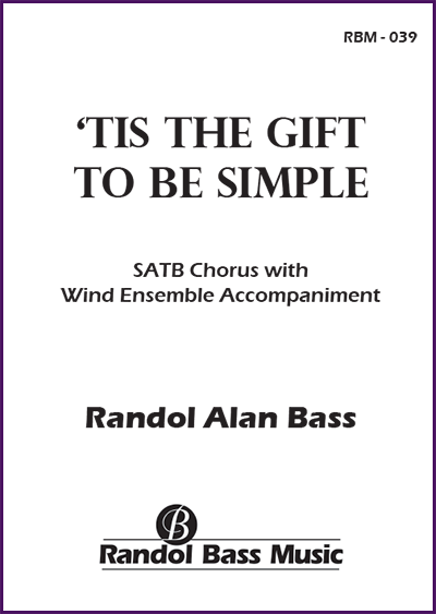 RBM-039 | 'Tis the Gift to be Simple